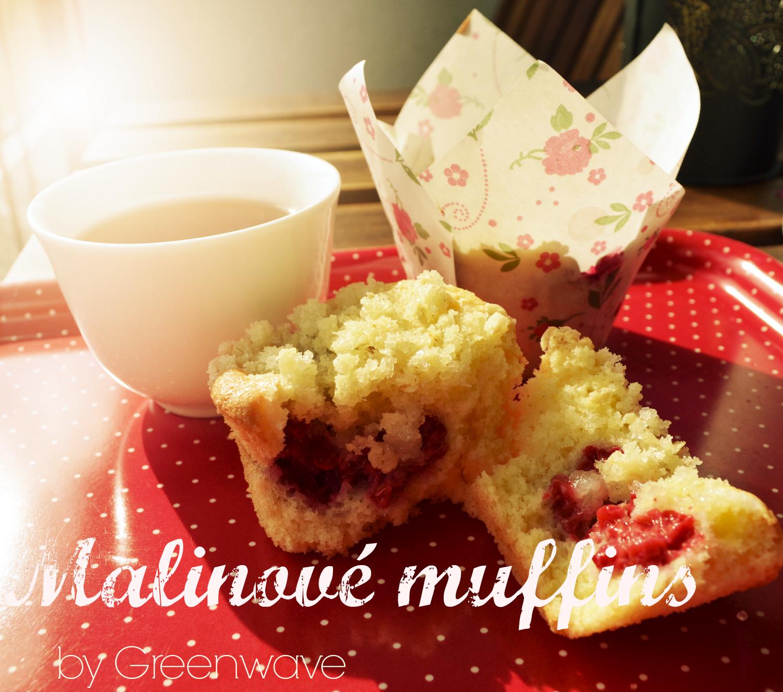 Malinové muffins by Greenwave