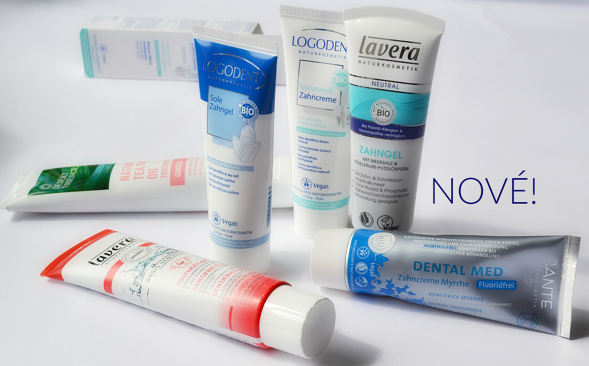 Přírodní zubní pasty