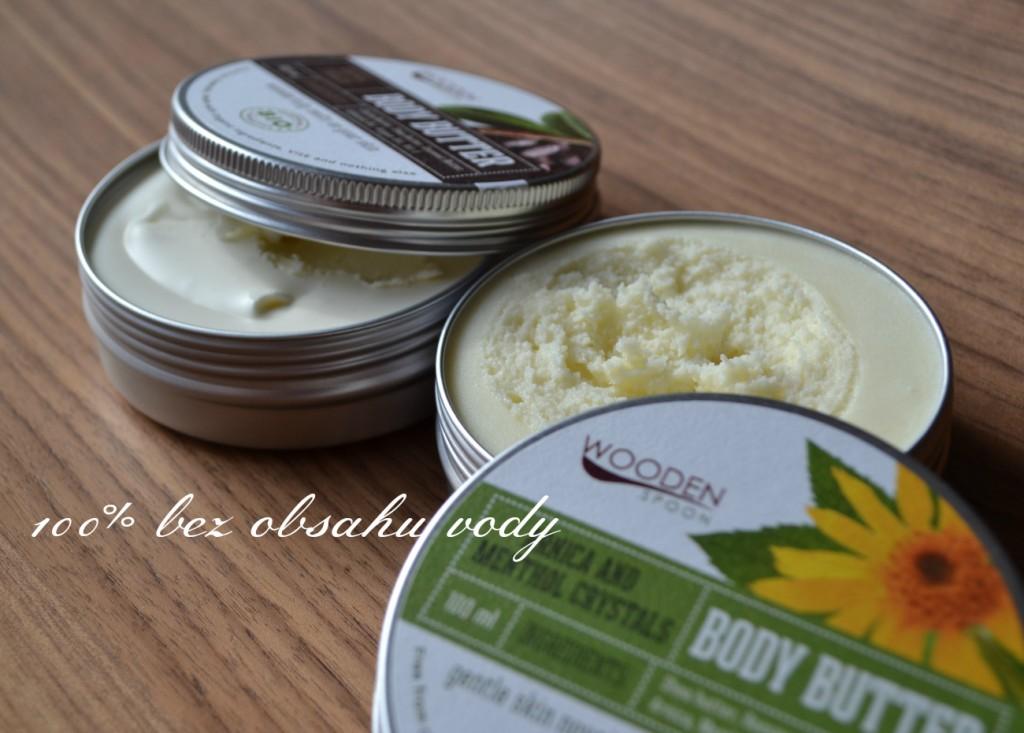 Wooden spoon tělové máslo