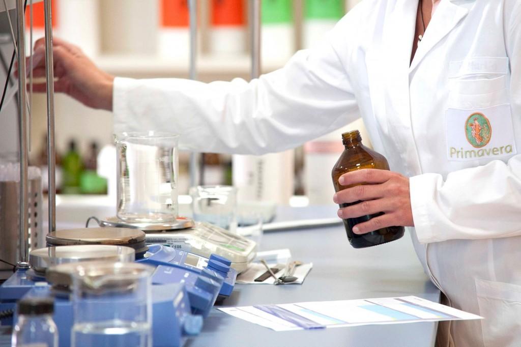 Přírodní denní krém laboratoř