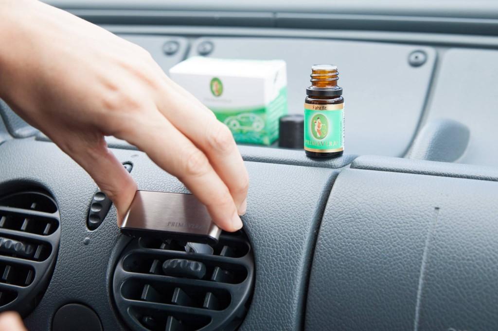Aromaterapie na cestách