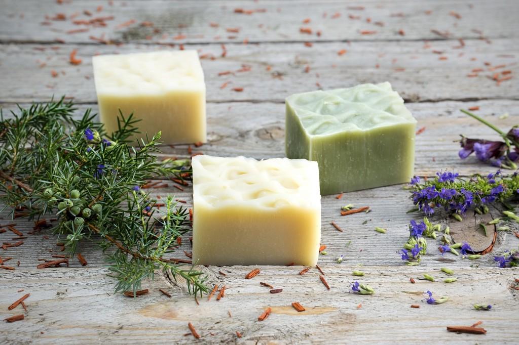 přírodní mýdlo Indívo