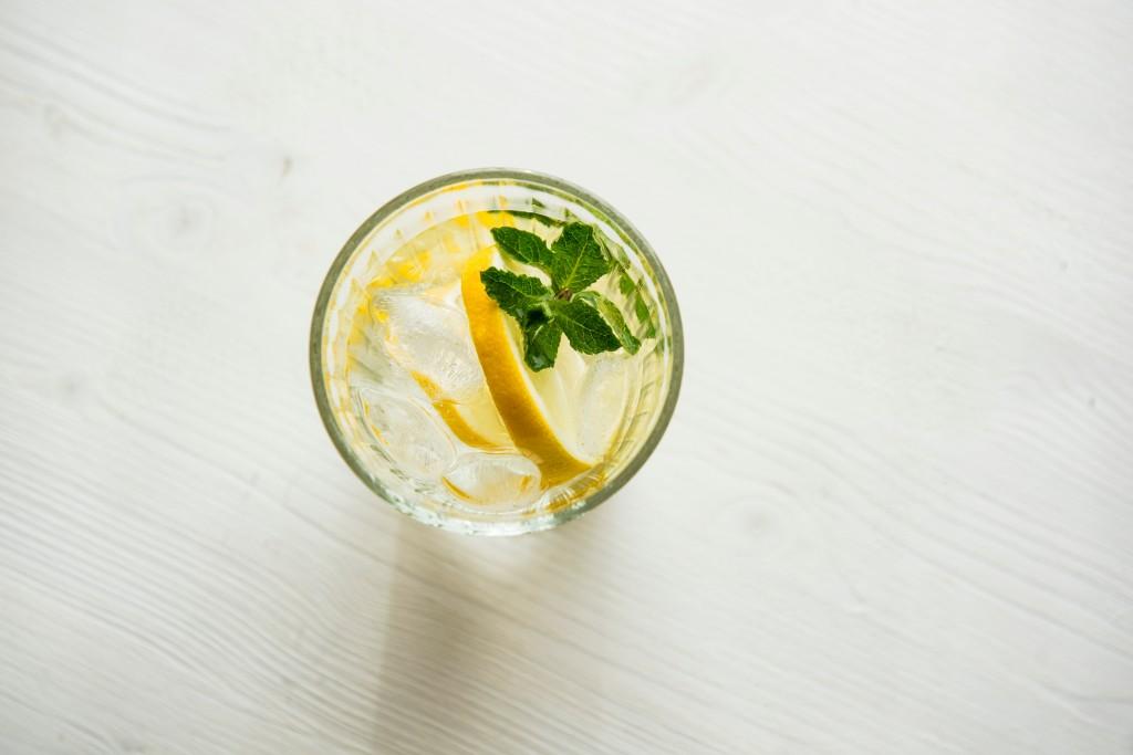 citron a máta