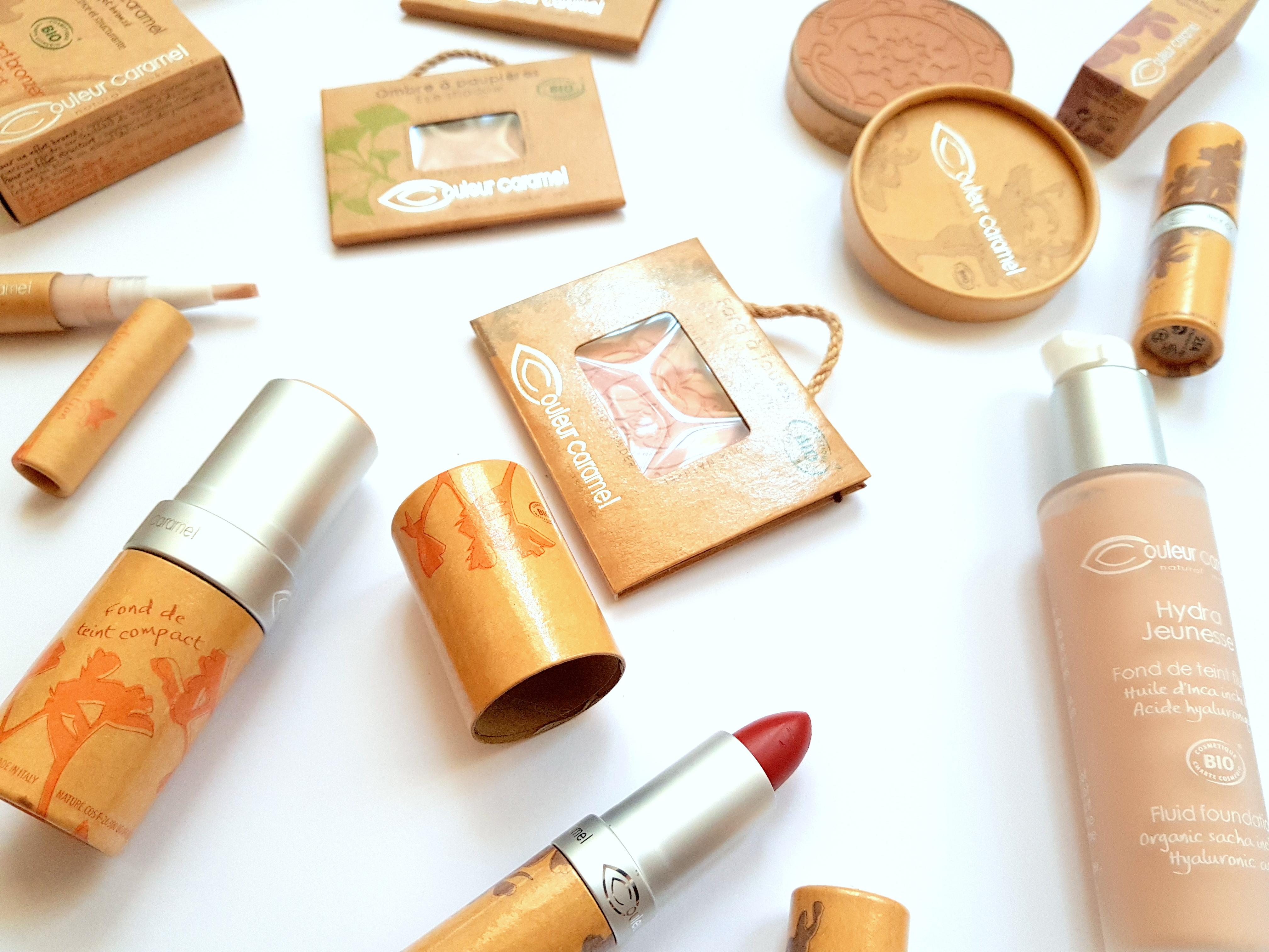 Couleur Caramel dekorativní kosmetika
