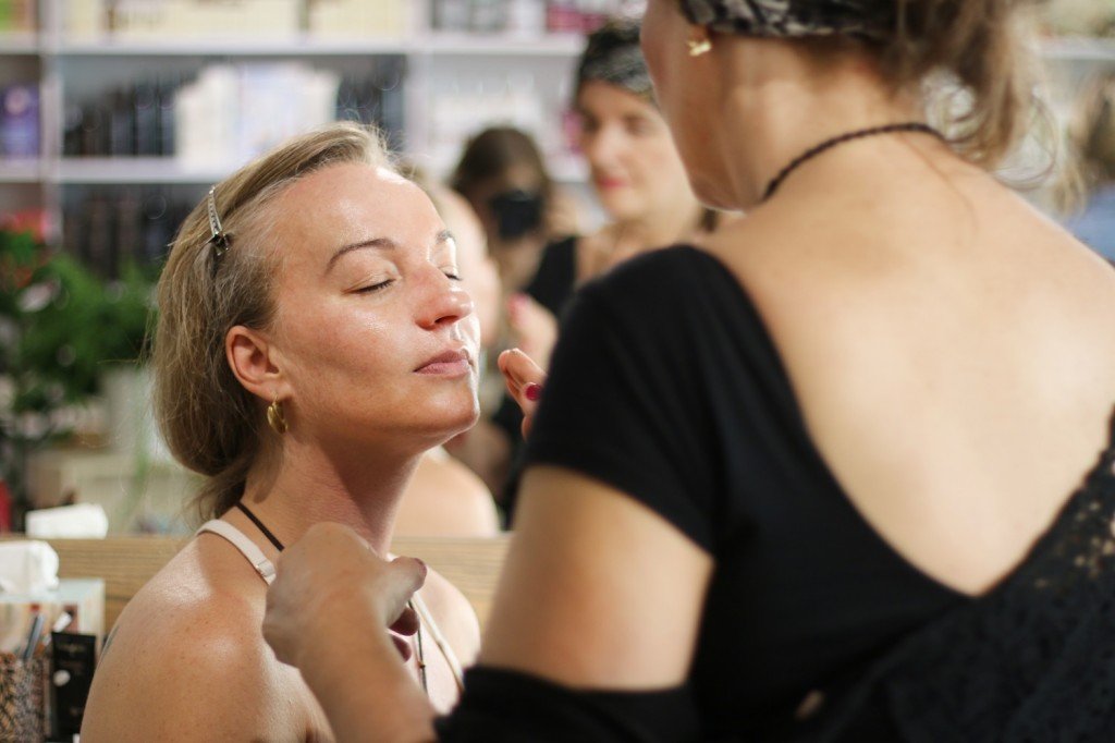 Sandra Pogodová makeup