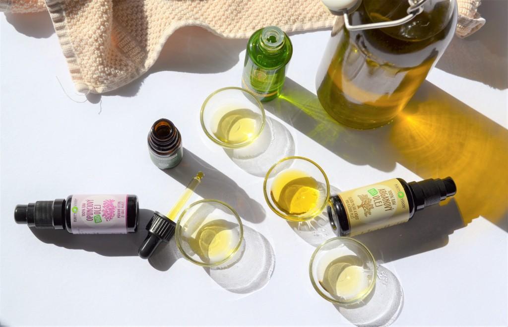 oleje podle typu pleťi
